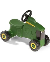 zoomed image john deere sit n scoot riding tractor toy green hi res