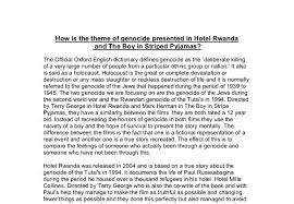 how is genocide presented in the boys in striped pyjamas and hitel document image preview