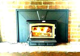 wood fireplace inserts with blowers insert blower used burning f stove reviews blow
