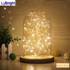 5w glass table lamp ac 220v creative personality diy led table light for living room bedroom