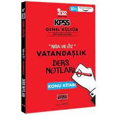 2022 KPSS GK Kısa ve Öz Vatandaşlık Ders Notları Yargı Yayınları Fiyatları  ve Özellikleri