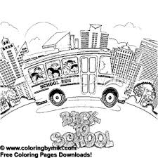 Back To School Coloring Page 955 Coloring By Miki