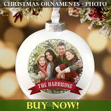 Christmas Ornaments with photo