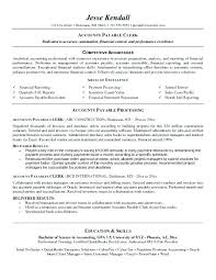 Accounts Payable Specialist Sample Resume Best Accounts Payable Resume Template Accounts Payable Resume Sample Job