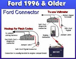 1994 ford bronco hard shifting transmission problem 1994 ford havent found it but to reset the pcm ground the sti under the hood on the left fender apron when the check engine light starts flashing the codes