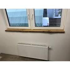 Lärche Fensterbank Baumkante Rustikal Unbesäumt 100x25x25cm