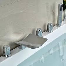 bathtub waterfall faucet waterfall bathtub faucet luxury waterfall bathtub faucet set with beautifully designed in faucet bathtub waterfall faucet