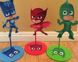 Pj Mask Party Decoration Ideas Unique handmade party deocor by SOUTHFLOWER on Etsy 83