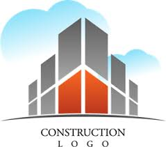 Villa Building Construction Logo Vector (.AI) Free Download