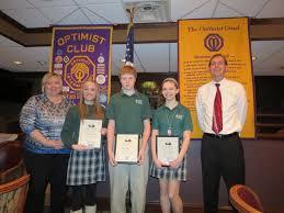 Optimist Essay Contest Mehlville Optimist Essay Contest Winners Green Park