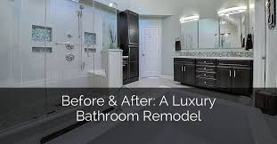 Bathroom Remodeling Naperville Amazing Before After A Luxury Bathroom Remodel Home Remodeling