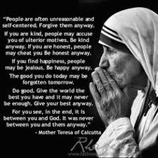 Mother Teresa Quotes on Pinterest | Mother Teresa, Mother Theresa ... via Relatably.com