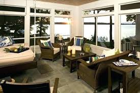screened in porch furniture. Screened Porch Furniture In A With Hanging .
