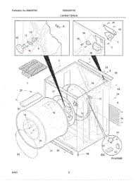 parts for crosley cdefw dryer com 03 cabinet drum parts for crosley dryer cde5000fw0 from com