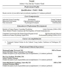 Two Page Resume Example Examples Of Resumes