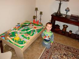 kidkraft wooden train table instructions designs