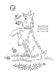Vintage Embroidery Designs Machine Puppies And Dogs Embroidery Patterns Crewel Embroidery