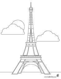 Small Picture Eiffel tower coloring pages Hellokidscom