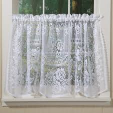 decoration white sheer cafe curtains french cafe curtains for kitchen white sheer kitchen curtains lace valance fabric by the yard voile cafe curtains