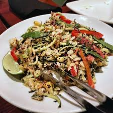 inspiralized menu thai noodle salad