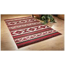 big sky lodge area rug