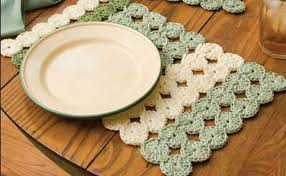 Free Crochet Placemat Patterns Adorable Crochet Placemat Free Patterns