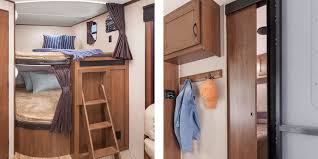 strong sleep peacefully strong the 2016 jay flight features wooden bedroom