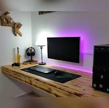 interesting laptop desk setup the 25 best ideas about desk setup on monitor pc
