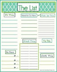 to do lists templates free printable weekly to do list weekly planner printable