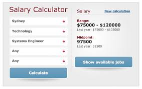 Pay Calculator Australia How To Determine Your Salary In Sydney Before You Move