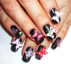 3d Nail Art Designs 30 Beautiful 3d Butterflies Nail Art Design Ideas