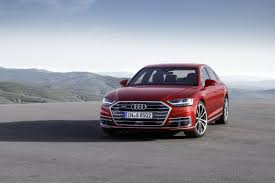 The new Audi A8 luxury sedan is a high-tech beast that can drive ...