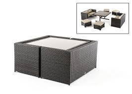 renava cube outdoor dining set wayfair patio bistro sets