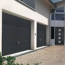 hormann 2601 elegance in anthracite grey ral 7016 special offer hormann steel up and over canopy garage door at garage doors