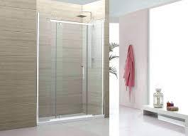 inspiring sliding shower barn door sliding glass shower doors barn door system double sliding glass shower