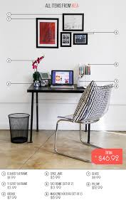 Accessoriescool office wall decor ideas Unique Cheap Challenge 50 Desk Makeovers refinery29 Desk Makeover Office Decor Home Pinterest Office Accessories Cool Quirky Work Supplies Furniture