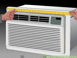 air conditioning box. image titled make a wooden box for an ac unit step 4 air conditioning i