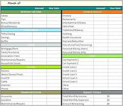 Monthly Expense Tracker Excel Free Excel Budget Template And Expense Tracking Spreadsheet