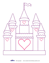 Small Picture Castle Coloring Pages To Print Coloring Coloring Pages