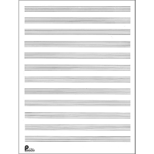 Music Sales Passantino Manuscript Paper Old 51 12 Stave 80 Pages 9x12