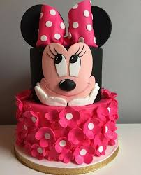 Minnie Mouse Cake Minnie Mouse In 2019 Minnie Cake Minnie Mouse