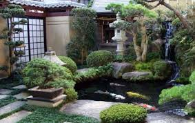 Lawn Garden Japanese Designs Design Idea Small Home With