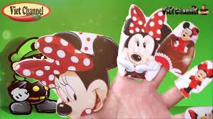 Bài hát Finger gia đình vui cùng hát với gia đình nhà chuột mickey xinh xắn  - YouTube