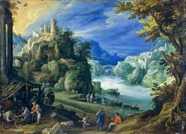 Paul_Bril_001.jpg (944×680) | Landscape paintings, Landscape, Mountain  landscape