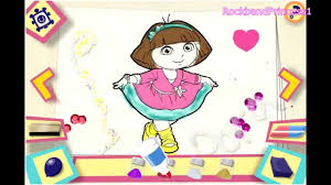 Online Dora The Explorer Games Dora The Explorer Painting Games