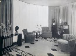 S American Living Room House Of Tomorrow Living Room - 1930s house interiors
