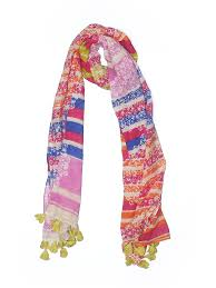 Details About Ann Taylor Loft Women Pink Scarf One Size