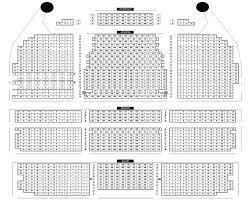Interpretive Schubert Theatre Seating Chart 2019