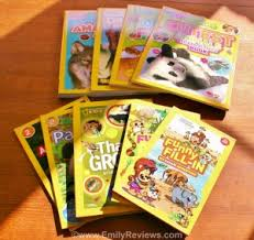 for our review we received a generous collection of books including national geographic kids cutest s sticker activity book national geographic
