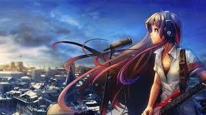 cute anime music wallpaper.  Wallpaper 1920x1080 Cute Anime Music Wallpaper Hd 1489   With S